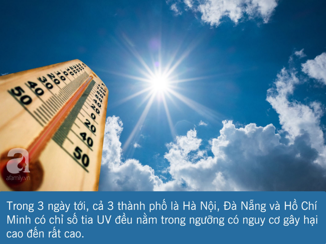 3 ngày tới nắng nóng cực điểm: Đây là những việc bạn cần làm ngay để tránh tia UV, bảo vệ làn da và sức khỏe - Ảnh 1