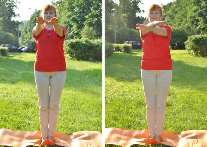 8 bài tập làm săn chắc bắp tay dành cho phụ nữ ngoài 40 - Ảnh 7