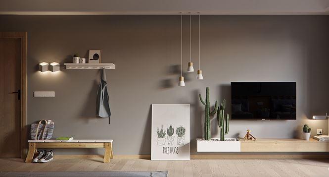 Căn hộ 60 m2 rộng rãi không ngờ nhờ bỏ tường ngăn - Ảnh 3