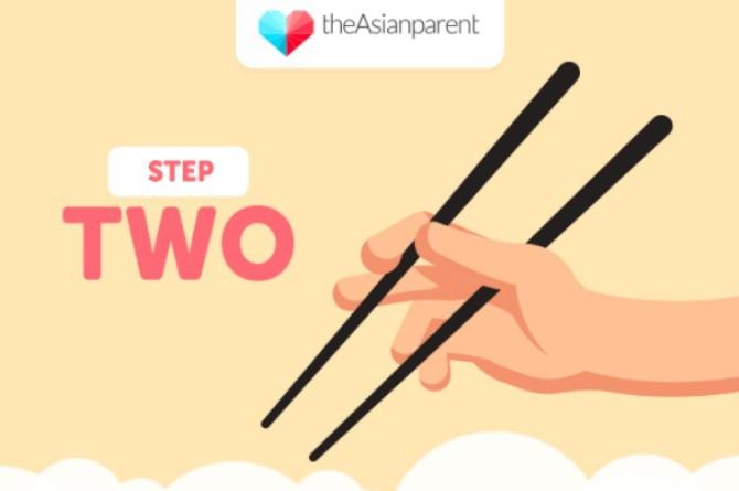 5 bước dạy bé sử dụng đũa thành thạo - Ảnh 2