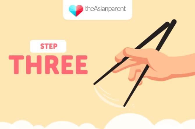 5 bước dạy bé sử dụng đũa thành thạo - Ảnh 3