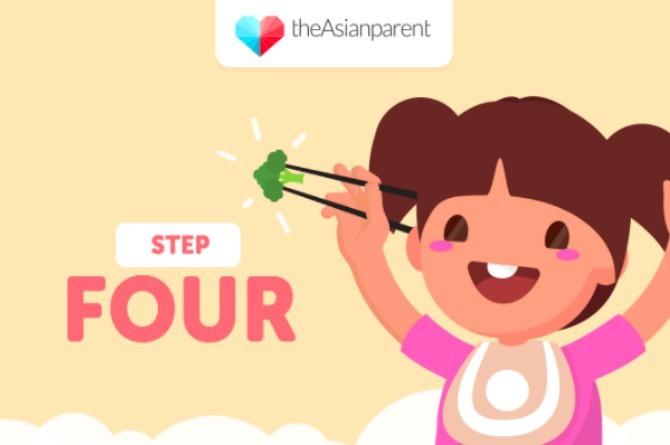 5 bước dạy bé sử dụng đũa thành thạo - Ảnh 4