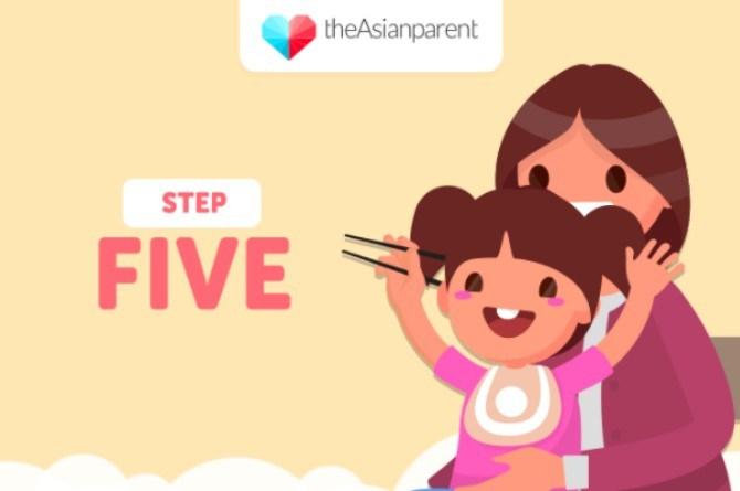 5 bước dạy bé sử dụng đũa thành thạo - Ảnh 5