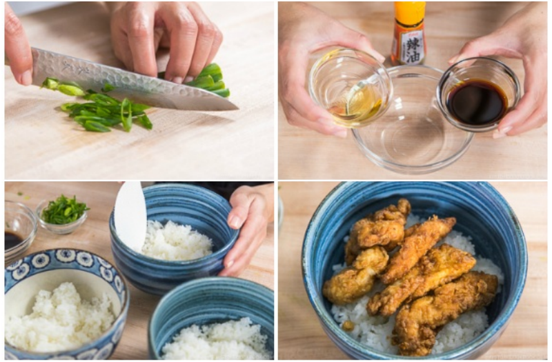 Bữa tối siêu tốc với món cơm gà kiểu Nhật tuyệt ngon - Ảnh 5