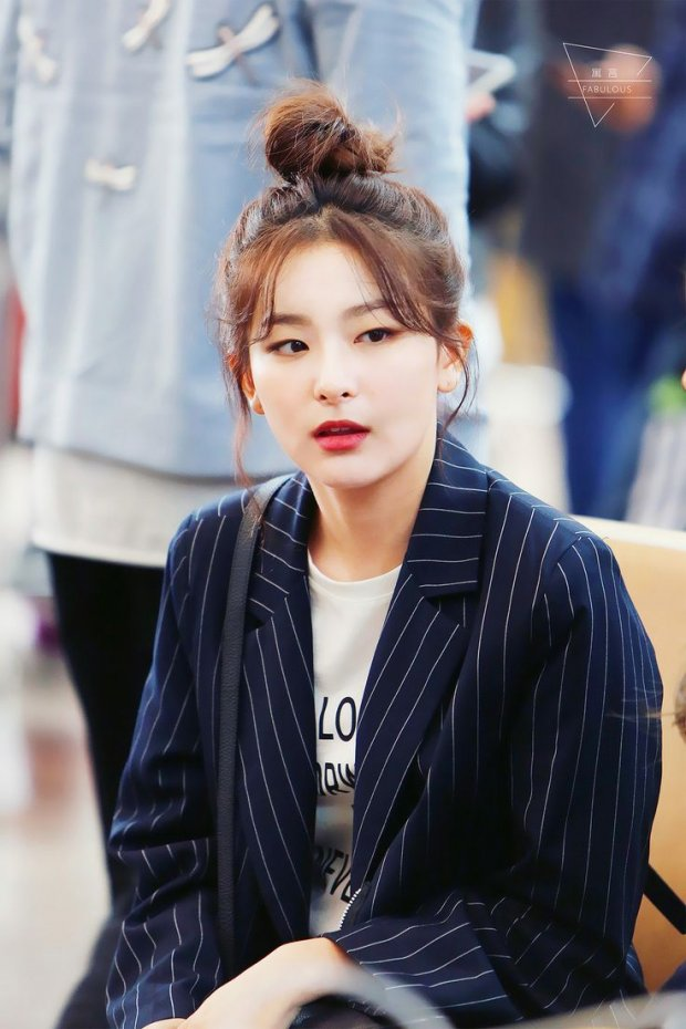 Hô biến mắt một mí thành mắt nai to tròn xinh như Seulgi (Red Velvet) với mẹo trang điểm cực đơn giản - Ảnh 2