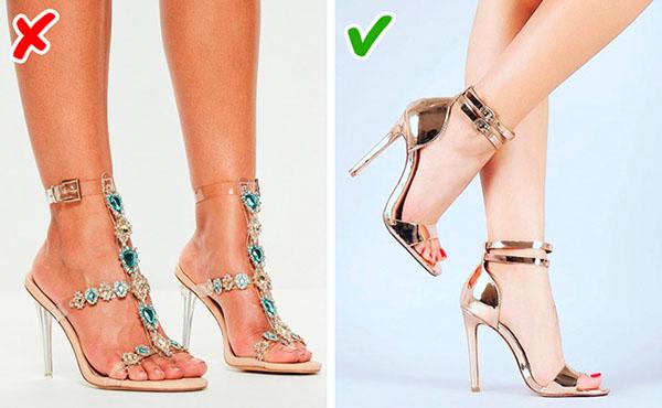 8 yếu tố khiến giày dép trông kém sang - Ảnh 2