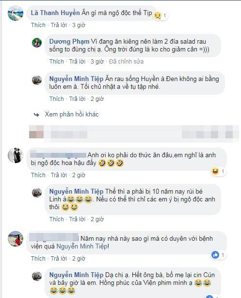 Diễn viên Minh Tiệp bị ngộ độc thực phẩm ở Quảng Ninh khi tham dự gala 30 năm Hoa hậu Việt Nam - Ảnh 3