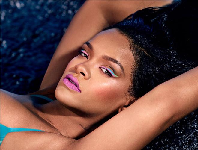 Cách trang điểm màu neon đẹp như Selena Gomez, Rihanna - Ảnh 3