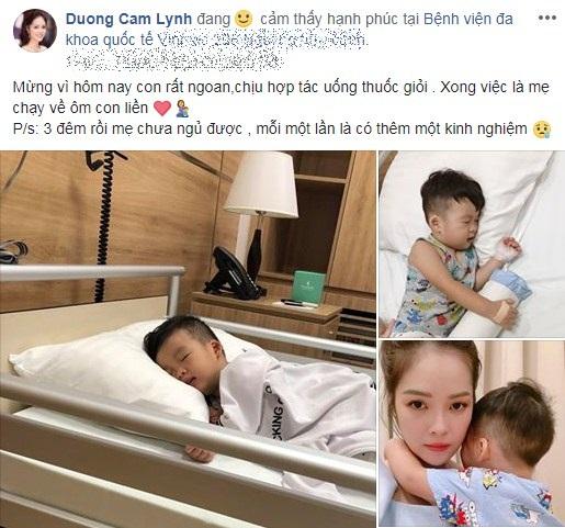 Lộ cuộc sống khó khăn chồng chất của Dương Cẩm Lynh sau ly hôn: Tiều tụy vì thức đêm chăm con bệnh - Ảnh 1
