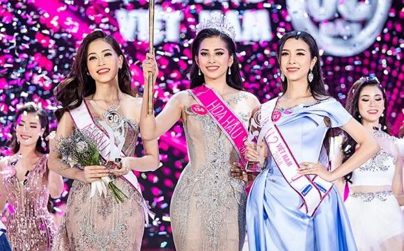 Tân Hoa hậu Việt Nam 2018 Trần Tiểu Vy nói về clip trong quán bar và bảng điểm kém - Ảnh 1
