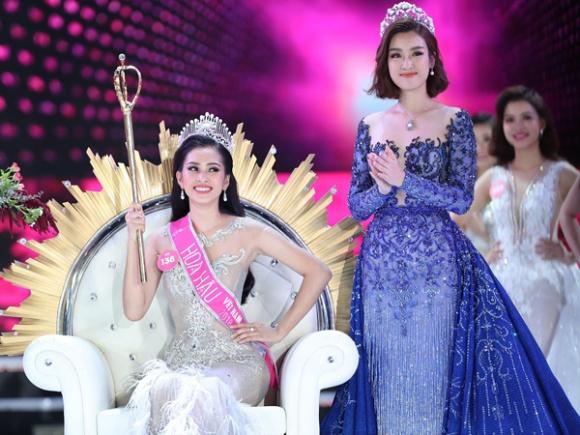 Tân Hoa hậu Việt Nam 2018 Trần Tiểu Vy nói về clip trong quán bar và bảng điểm kém - Ảnh 2
