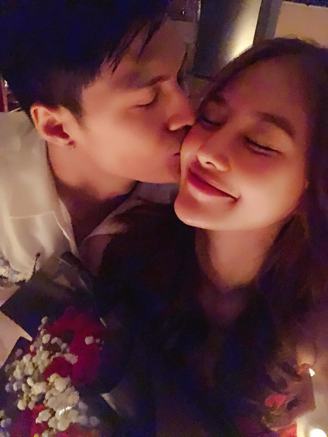 Đón sinh nhật bên Lâm Vinh Hải, Linh Chi gây sốt khi hạnh phúc tuyên bố: 'Hôm nay em chính thức là vợ anh' - Ảnh 1
