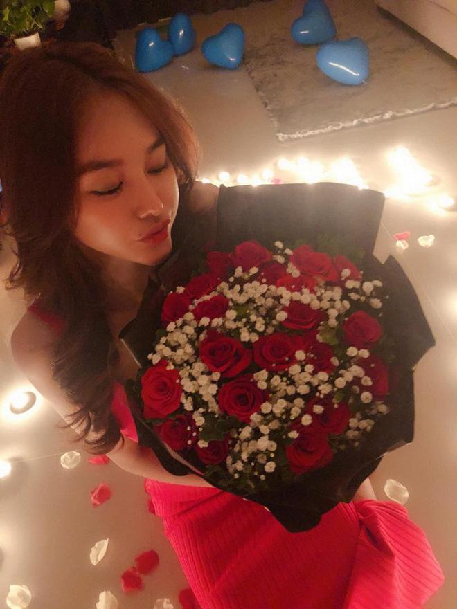 Đón sinh nhật bên Lâm Vinh Hải, Linh Chi gây sốt khi hạnh phúc tuyên bố: 'Hôm nay em chính thức là vợ anh' - Ảnh 2