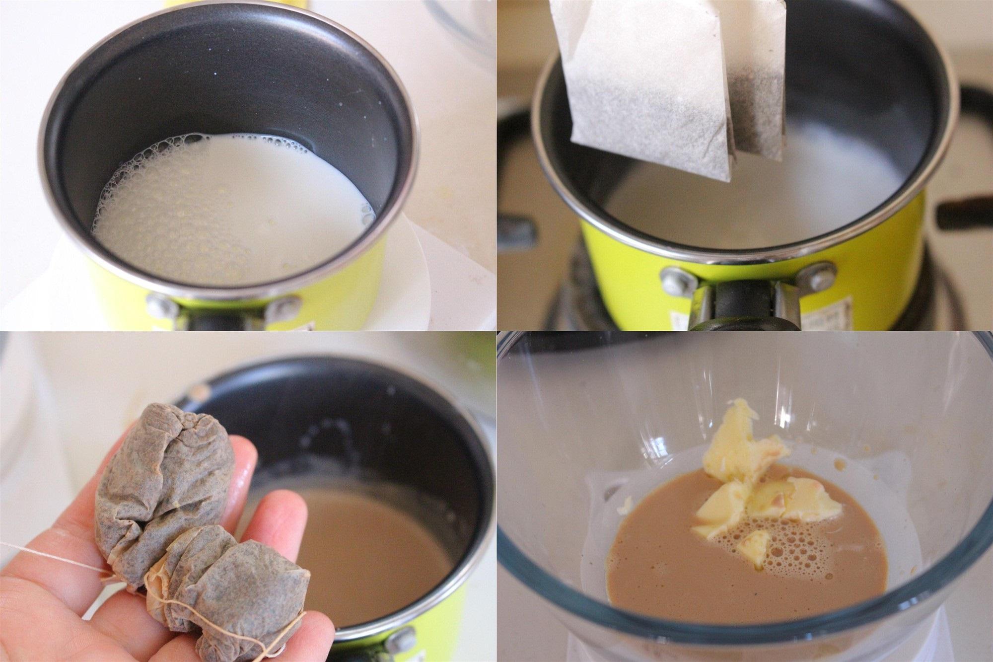 Bất cứ ai thích uống trà sữa hẳn sẽ mê mẩn ngay với món cupcake trà sữa mềm ngon thơm phức này - Ảnh 2