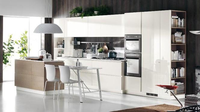 Những mẫu nhà bếp vừa nấu ăn, vừa ngắm cảnh đẹp đến khó tin - Ảnh 8