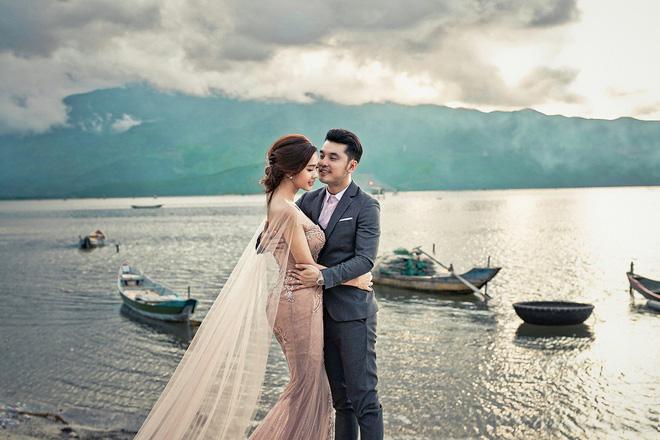 'Tan chảy' với bộ ảnh cưới đẹp như tranh vẽ của Ưng Hoàng Phúc và bà xã Kim Cương - Ảnh 6