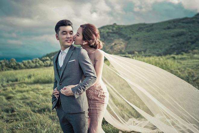 'Tan chảy' với bộ ảnh cưới đẹp như tranh vẽ của Ưng Hoàng Phúc và bà xã Kim Cương - Ảnh 7