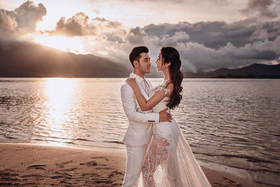 'Tan chảy' với bộ ảnh cưới đẹp như tranh vẽ của Ưng Hoàng Phúc và bà xã Kim Cương - Ảnh 8