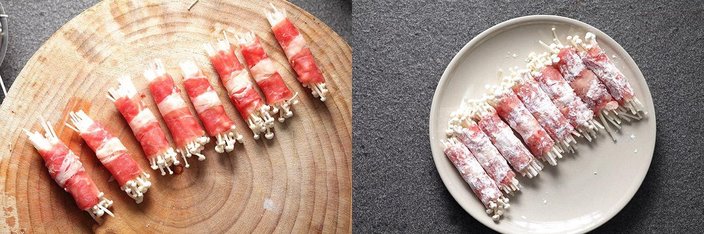 Thử ngay món bò cuộn nấm mới toanh cho bữa tiệc cuối năm thêm viên mãn - Ảnh 2