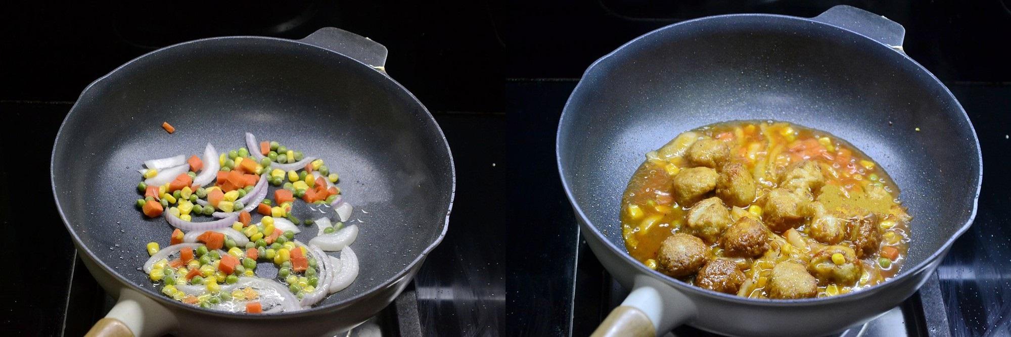 Cả nhà ngon cơm với món gà viên xốt rau củ lạ đậm đà lạ miệng - Ảnh 4