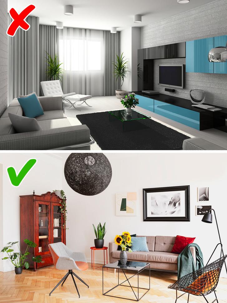 9 lời khuyên của các nhà thiết kế nội thất giúp bạn trang trí nhà chuẩn đẹp - Ảnh 1