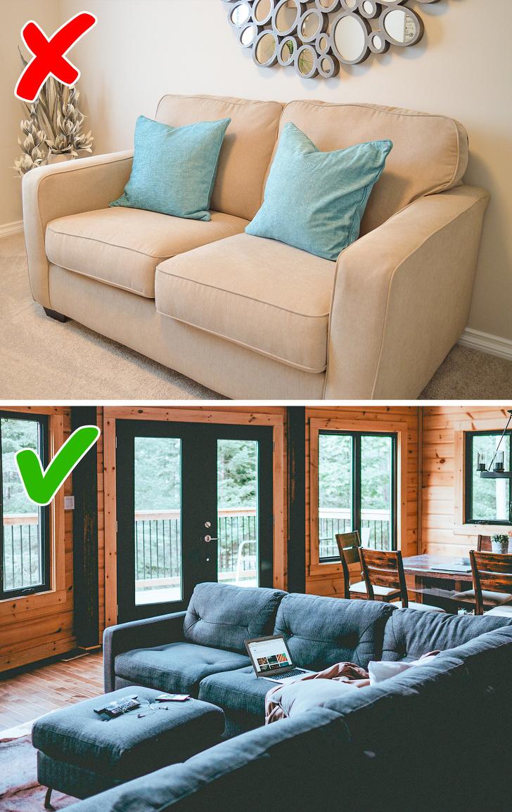 9 lời khuyên của các nhà thiết kế nội thất giúp bạn trang trí nhà chuẩn đẹp - Ảnh 4