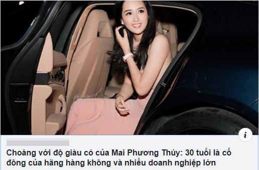 Được cho là có cổ đông của một hãng hàng không, Hoa hậu Mai Phương Thúy lên tiếng - Ảnh 1