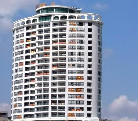Buộc ngừng hoạt động khách sạn xây trên đất quốc phòng - Ảnh 1