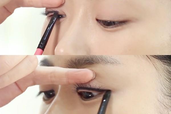 Cách sửa cực đơn giản cho lỗi kẻ eyeliner có khoảng trắng ở phần mi mắt - Ảnh 4