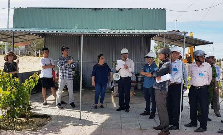 Mua gom trái phép đất ven Đà Nẵng dựng nhà tạm chờ đền bù - Ảnh 1