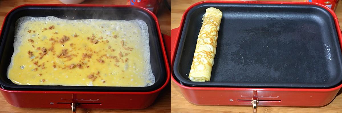Chỉ mất 3 phút làm món trứng cuộn mà con tôi đứa nào cũng ăn thun thút! - Ảnh 2