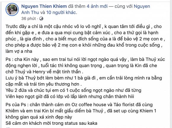 Ưng Hoàng Phúc, Phạm Quỳnh Anh và dàn sao Việt chúc mừng Thu Thuỷ được bạn trai kém tuổi cầu hôn - Ảnh 6