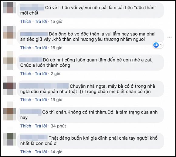Việt Anh hứng 'gạch đá' dữ dội từ cộng đồng mạng khi ăn mừng linh đình sau ly hôn lần hai - Ảnh 5