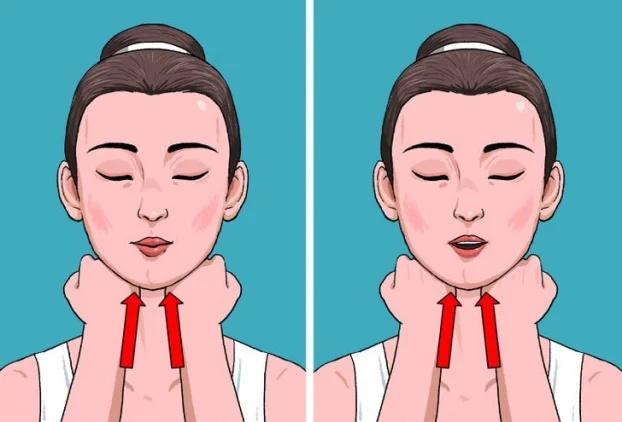 5 bài tập giúp bạn có đường xương hàm đẹp hơn không cần phẫu thuật - Ảnh 2
