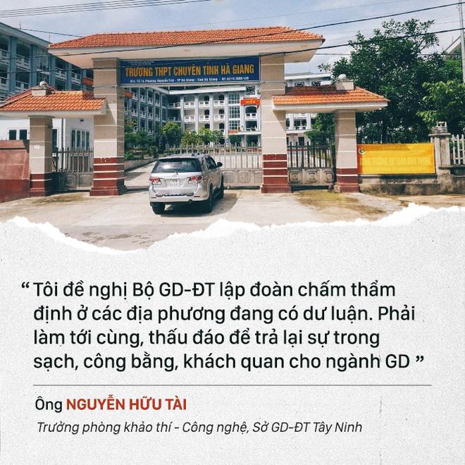 Bí thư Hà Giang Triệu Tài Vinh: 'Không việc gì tôi phải đi xin điểm' - Ảnh 2