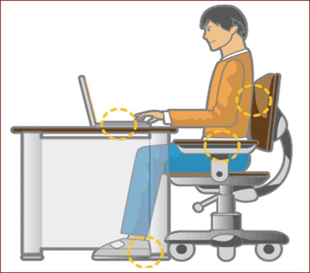 Dán mắt vào máy tính xách tay không ngừng nghỉ khiến bạn có nguy cơ gặp phải nhiều vấn đề sức khỏe tiềm ẩn - Ảnh 6