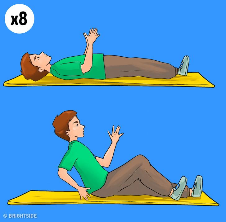 Những động tác giảm mỡ thừa giúp vòng eo thon gọn sau 2 tuần