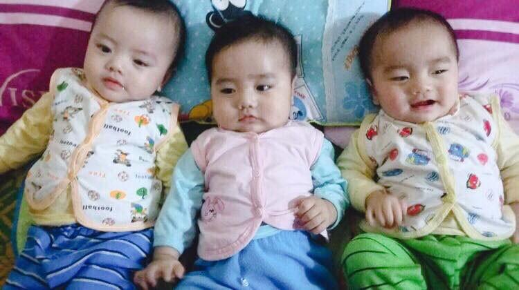 Mang thai ba, bác sĩ khuyên bỏ bớt thai để đảm bảo an toàn tính mạng cả mẹ cả con nhưng bố quyết giữ lại và cái kết đẹp như mơ - Ảnh 4