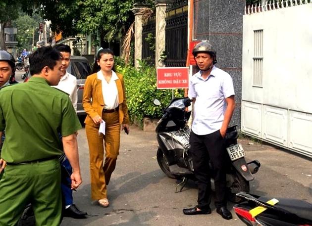 Thêm một 'sếp' của Công ty Alibaba đến trụ sở Công an làm việc - Ảnh 1