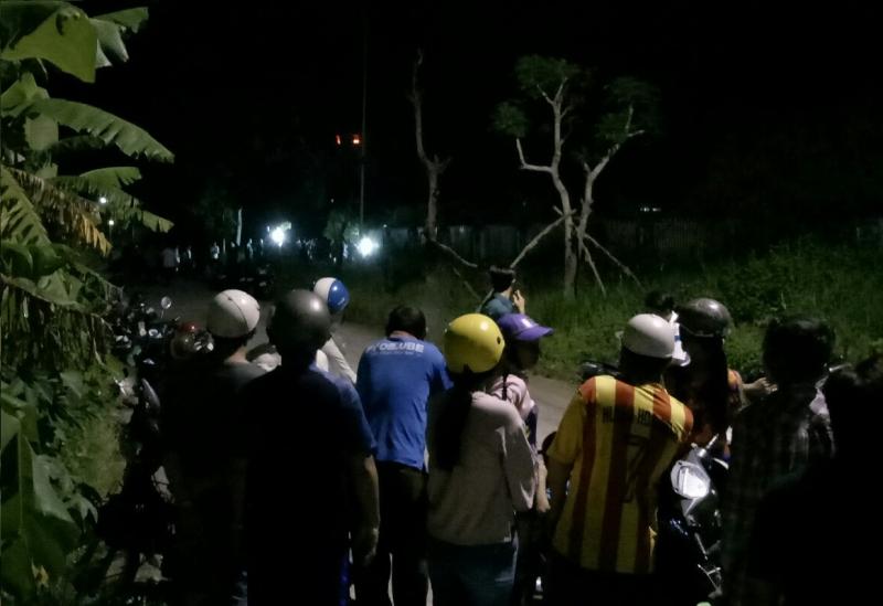 Nam thanh niên tử vong trong đám cỏ gần khu nhà ở sinh viên - Ảnh 1