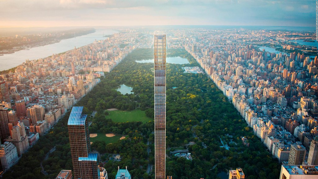 Bên trong cao ốc 435 m mỏng nhất thế giới - Ảnh 1