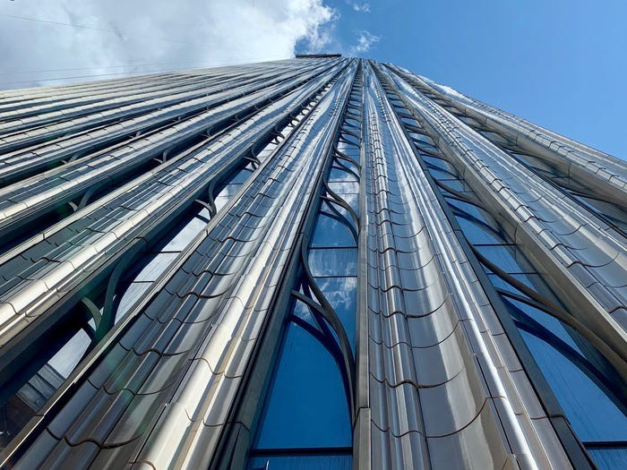 Bên trong cao ốc 435 m mỏng nhất thế giới - Ảnh 11