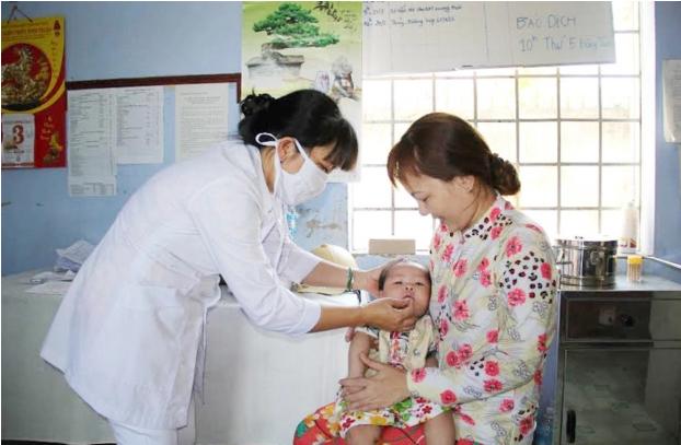 Đồng loạt bổ sung vitamin A miễn phí cho trẻ trên cả nước - Ảnh 1
