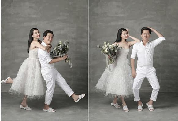 4 cô vợ chân dài của Vbiz luôn khéo thể hiện điều giản dị này để tránh dìm chiều cao của chồng - Ảnh 10