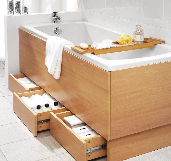 7 ý tưởng lưu trữ ẩn trong phòng tắm bạn không thể không biết để sở hữu phòng tắm rộng hơn diện tích thật - Ảnh 2
