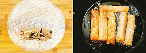 Cách làm nem rán ngon giòn rụm cho mâm cơm truyền thống tròn vị - Ảnh 4