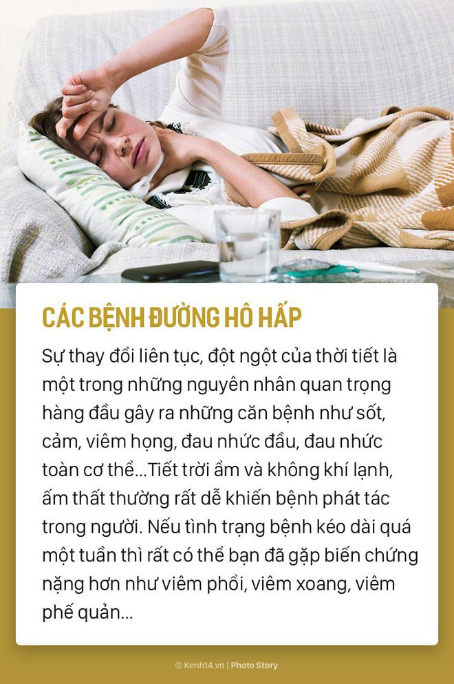 Đừng để năm mới suốt ngày phải nằm nhà vì các bệnh thường gặp sau - Ảnh 4