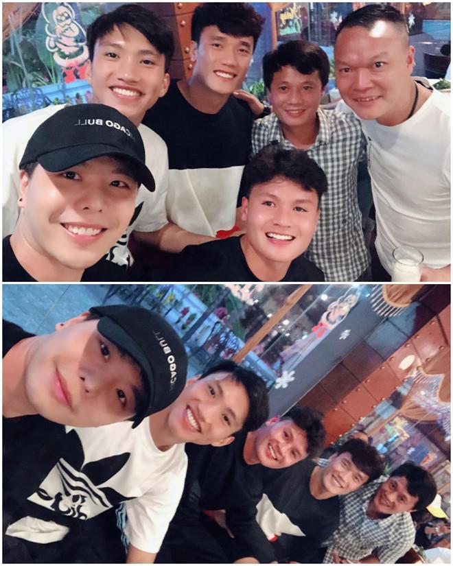 Trịnh Thăng Bình thăm đội bóng cũ có Quang Hải, Duy Mạnh và Văn Hậu - Ảnh 1
