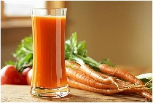 Hết sạch da nhờn nhờ mặt nạ cà rốt - Ảnh 2