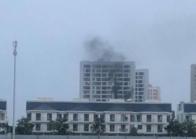Cháy tại chung cư Parc Spring ở Sài Gòn - Ảnh 1